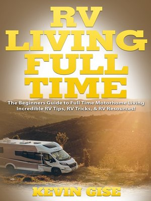 cover image of RV Living Full Time
